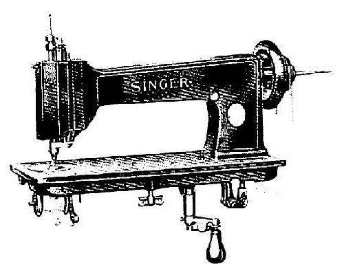 singer 132k6 industrial sewing machine manual