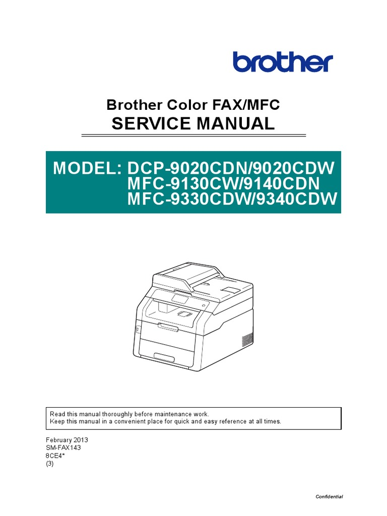 brother mfc 8950dw service manual pdf