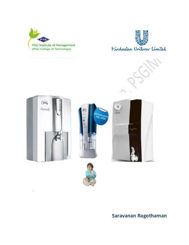 hul pureit advanced water purifier manual