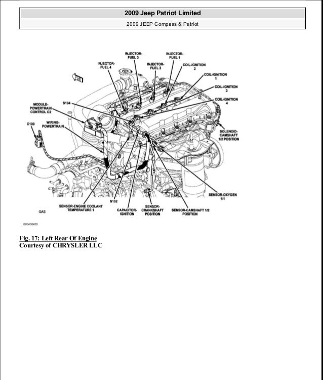 2015 jeep compass repair manual