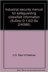 department of defence security manual