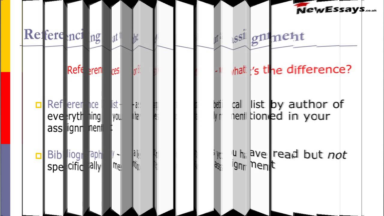 how to do referencing from manual