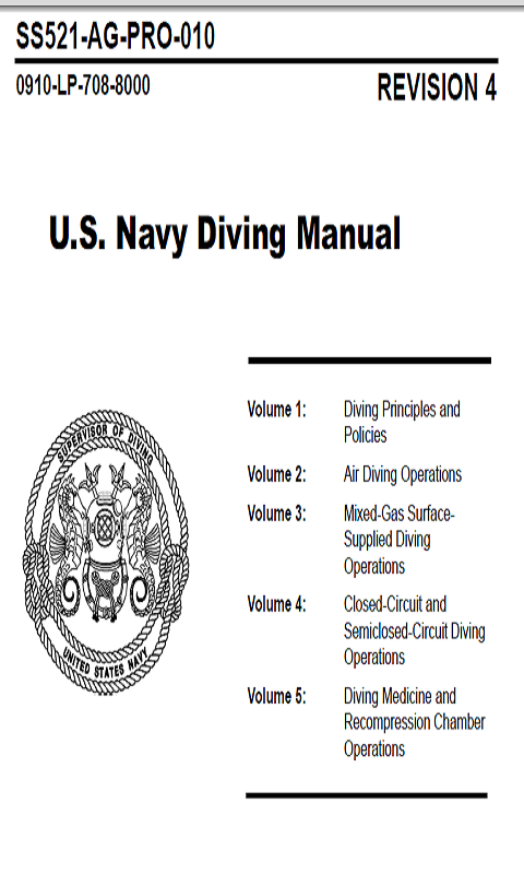 us navy dciem dive manual