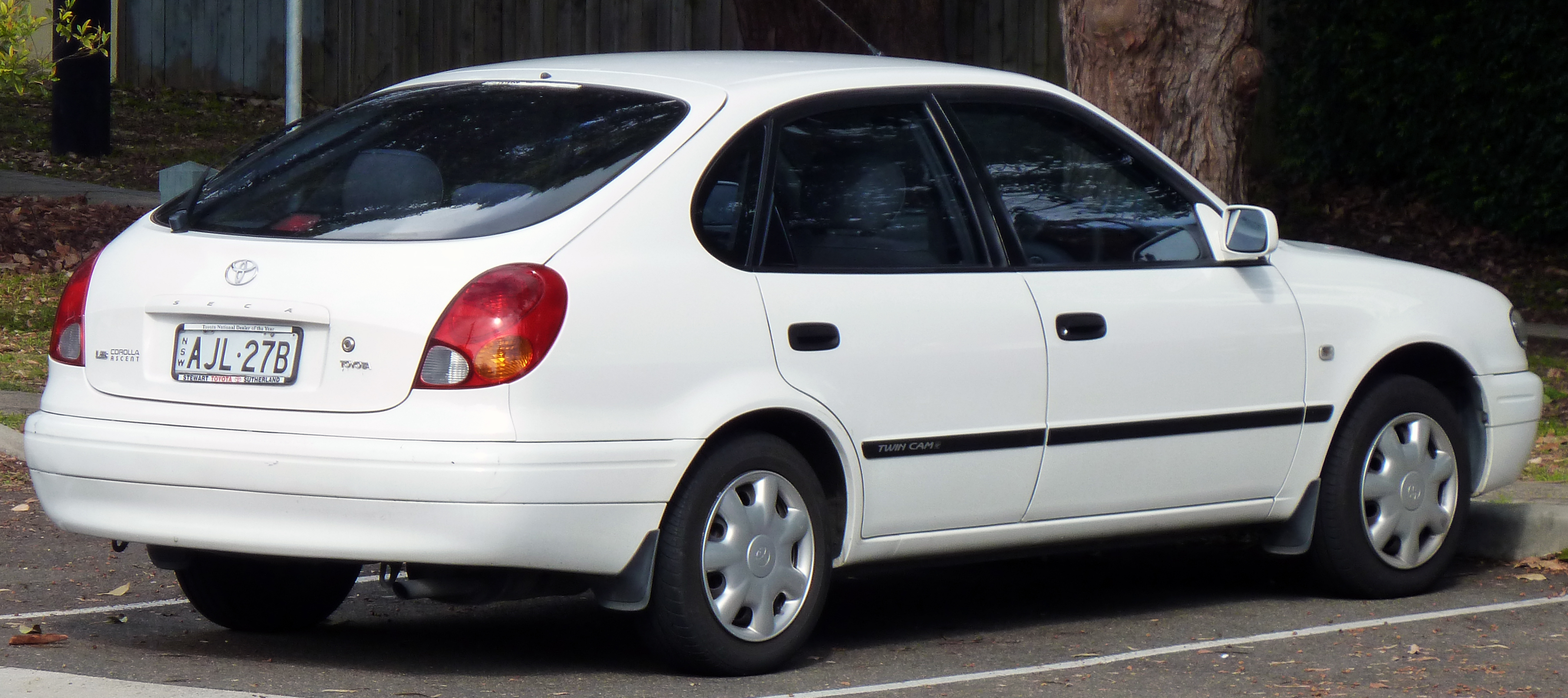 1997 toyota corolla csi seca manual