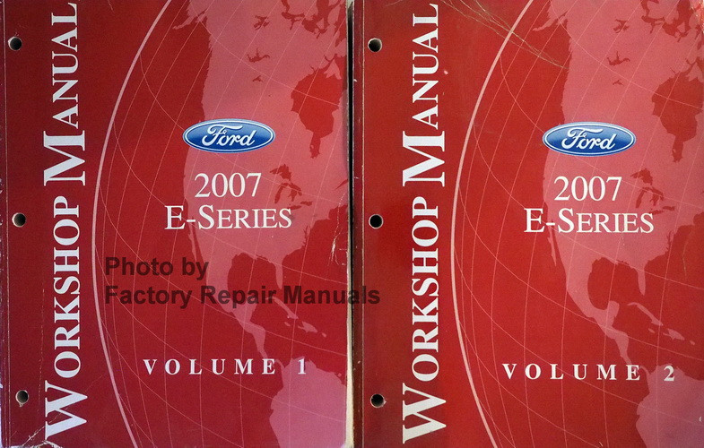 2007 ford e350 van manual