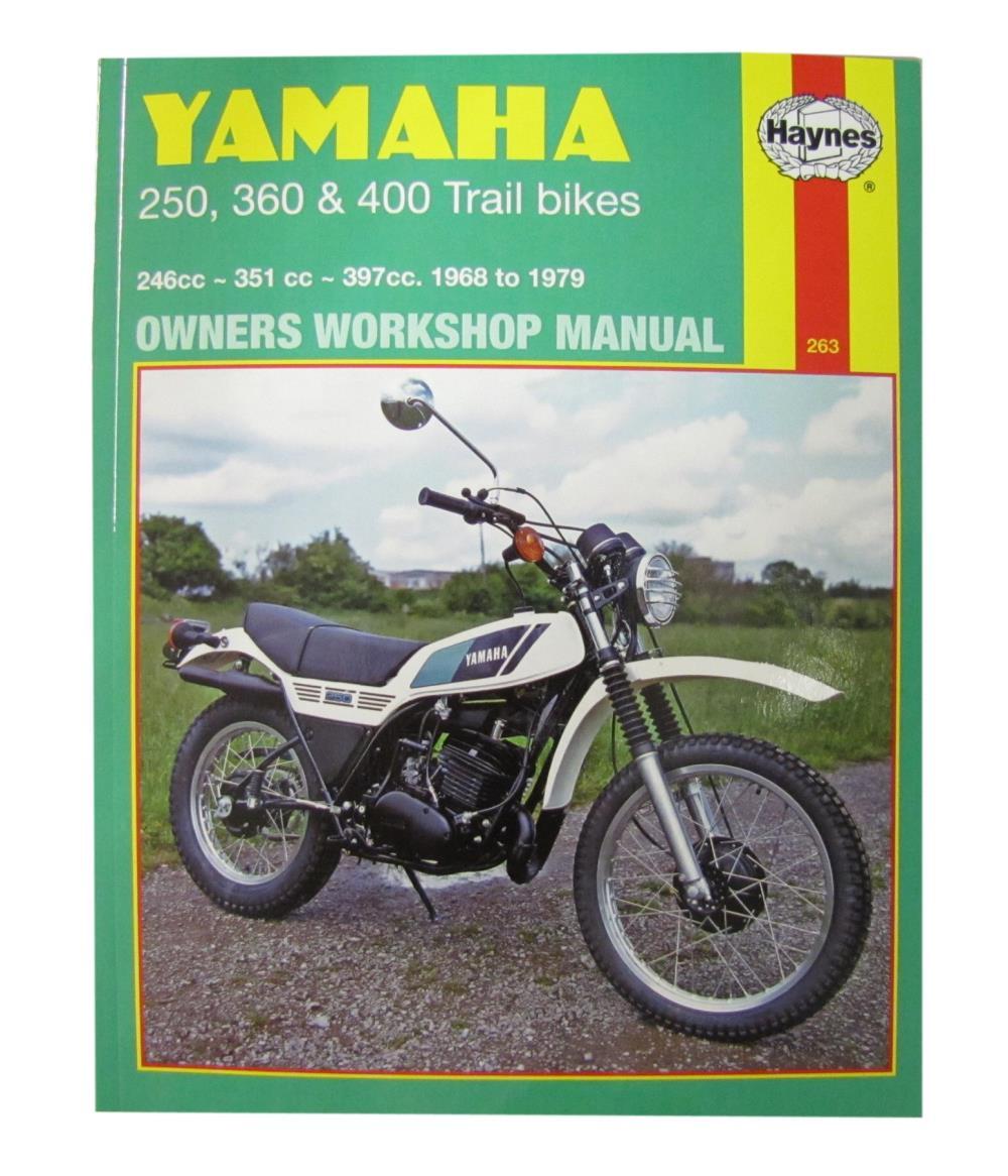 yamaha ty 250 workshop manual
