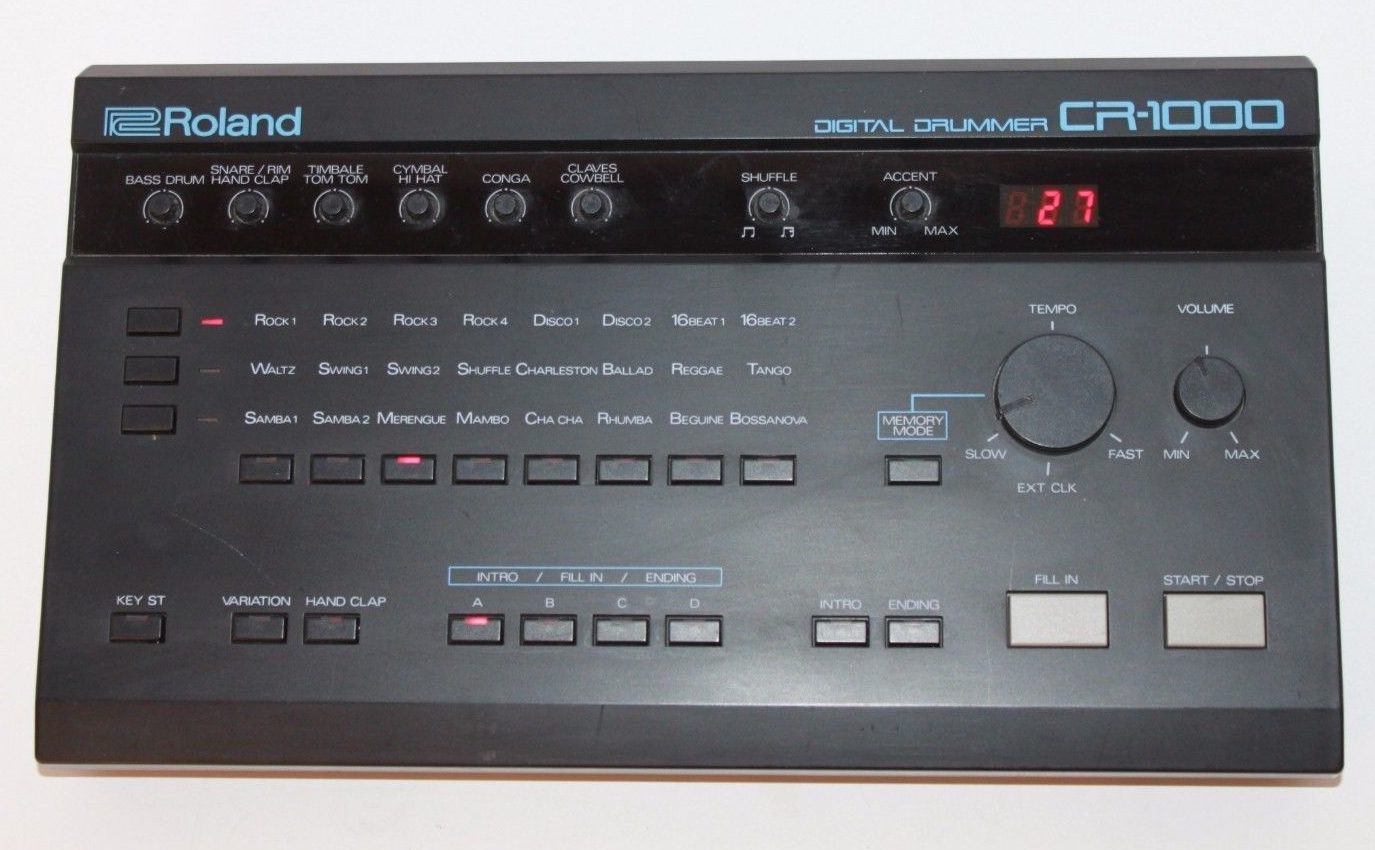 roland digital drums cr1000 manual