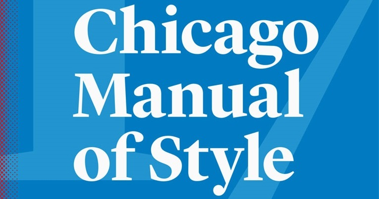 chicago manual of style 16th edition citation