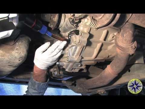 checking manual gearbox oil level on 2002 rav4