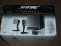 bose companion 2 series ii speakers manual