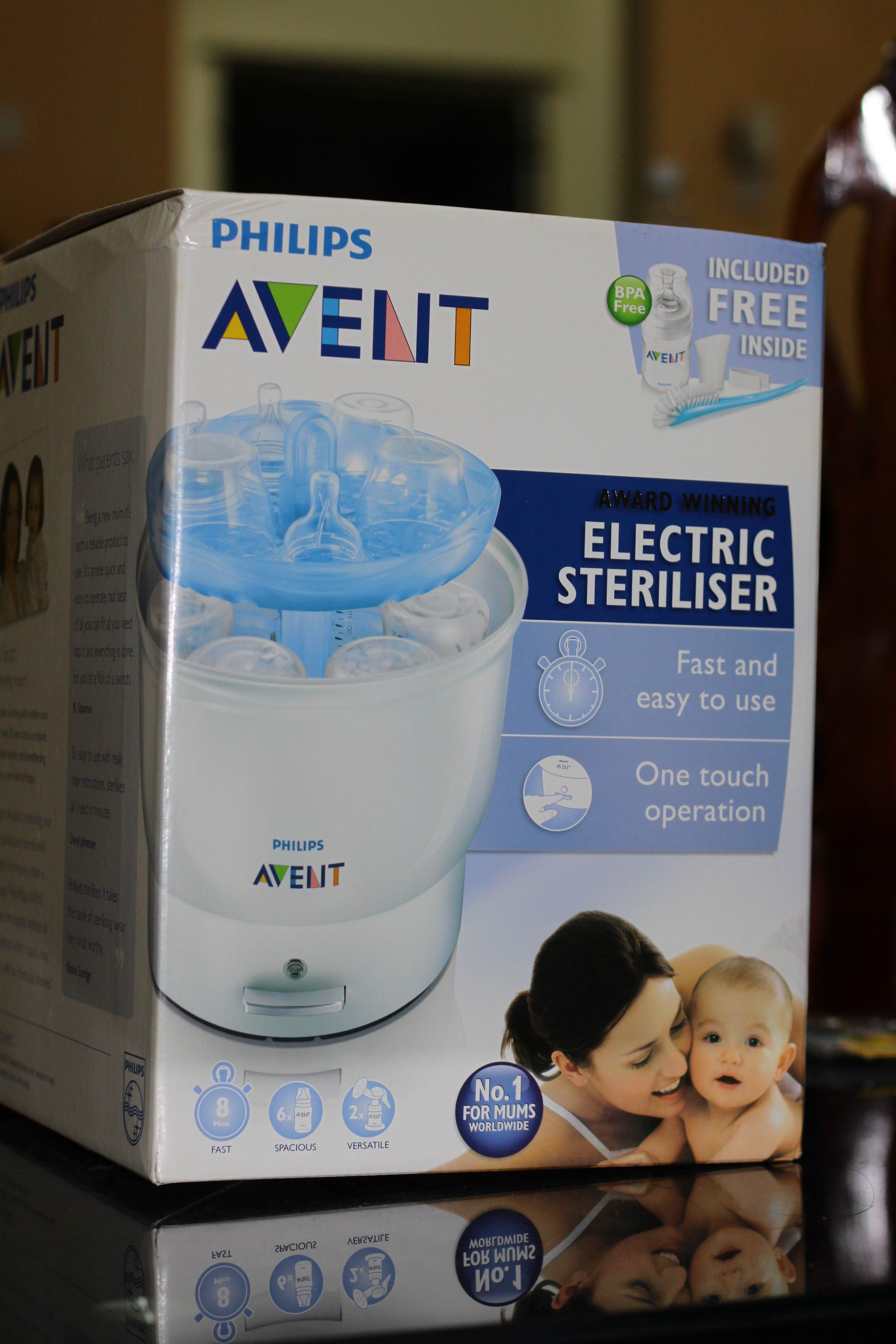 avent electric sterilizer iq24 manual