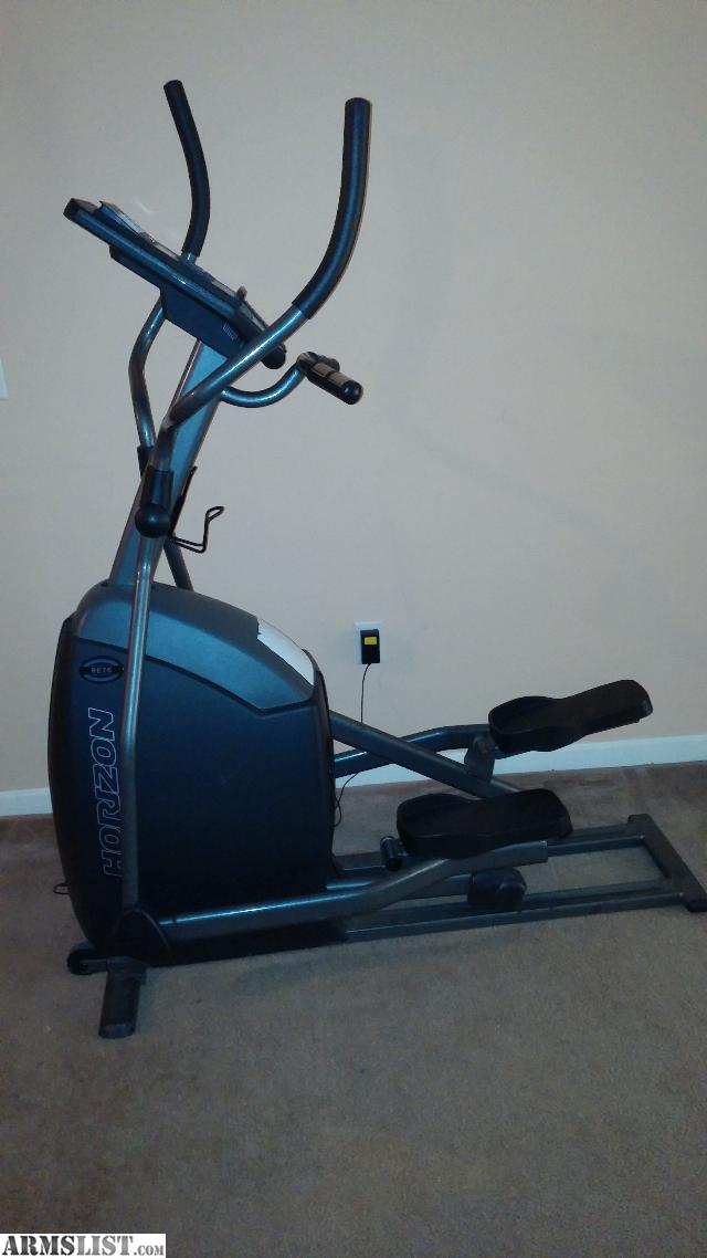 horizon re 7.6 elliptical manual