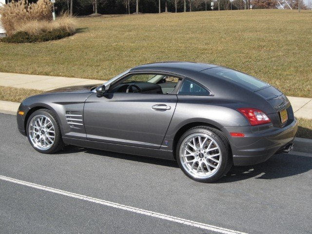 chrysler crossfire 6 speed manual