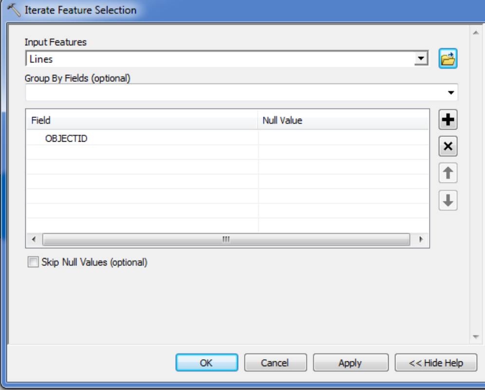 manually creating feature with coordinates arcmap