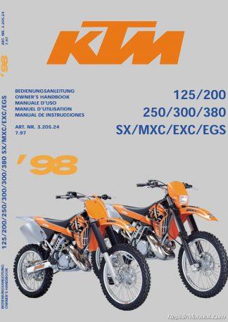 2002 ktm 200 exc manual
