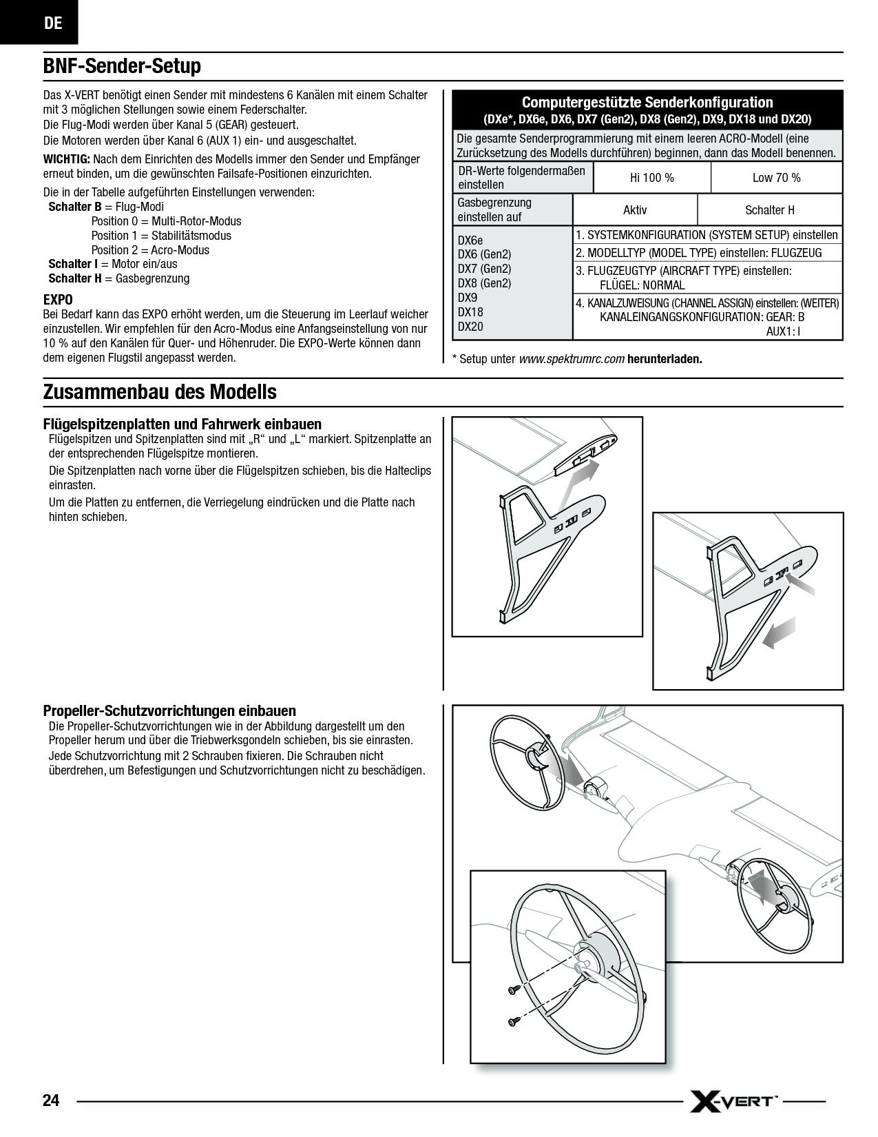 download x-vert user manual