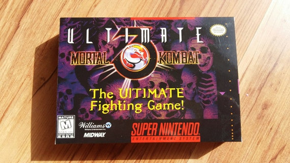 mortal kombat 2 snes no manual