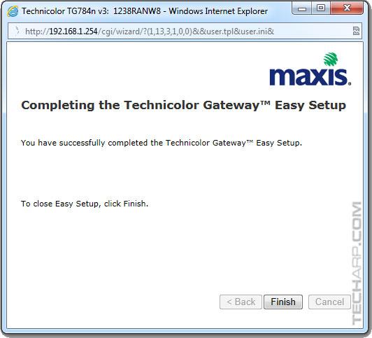technicolor gateway tg797n v3 manual