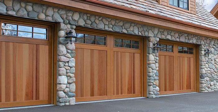 diy single manual garage door one side higher