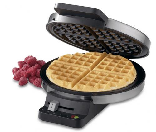 cuisinart classic round waffle maker manual