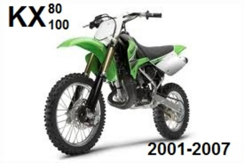 kawasaki kx100 engine 2001 manual