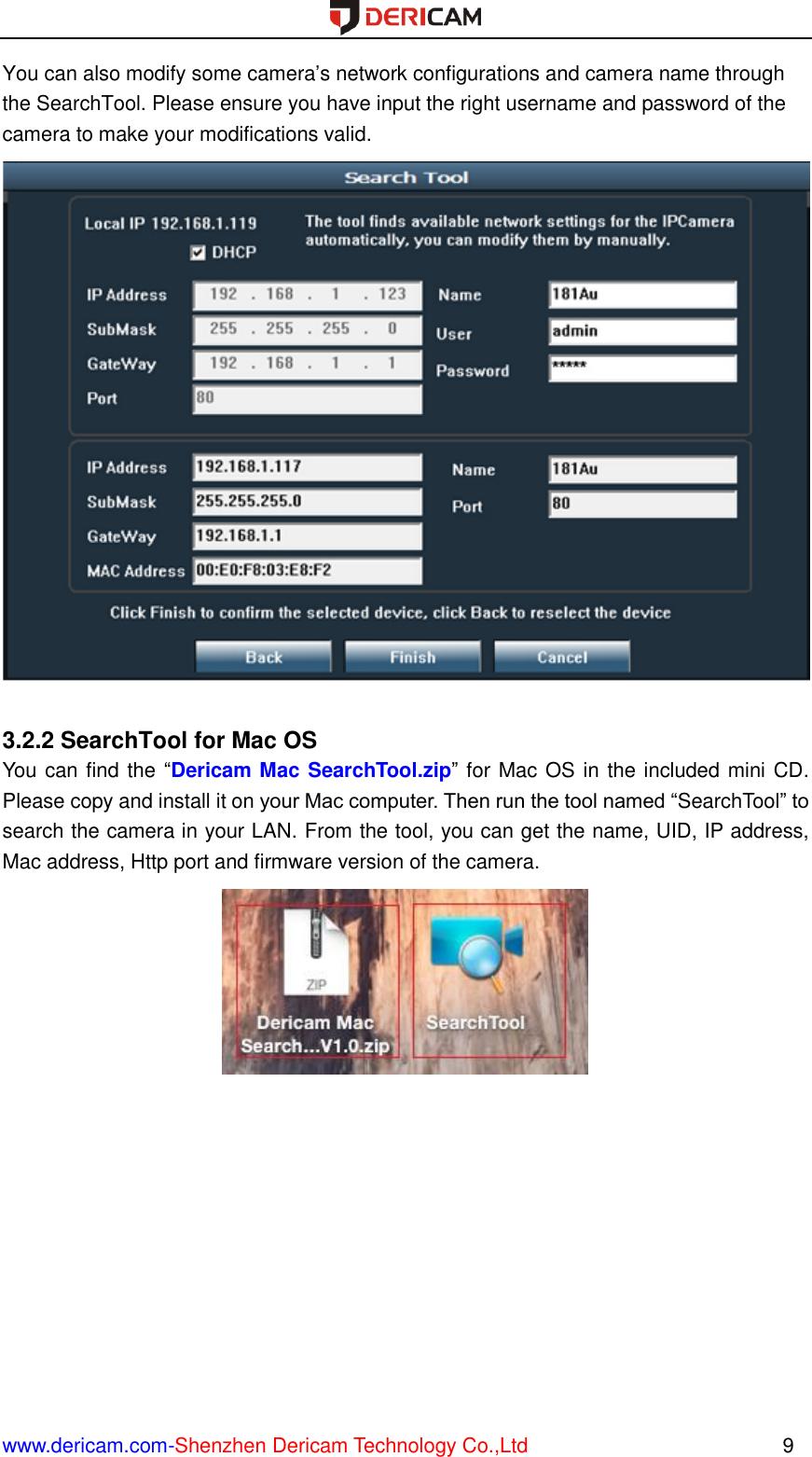 dbpower ip camera user manual.pdf