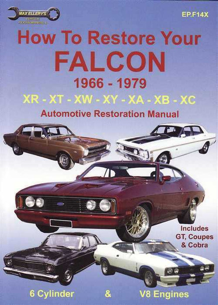 max ellery car manual ford falcon 1998-2002 download