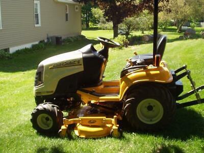 repair manual cub cadet lawn mower