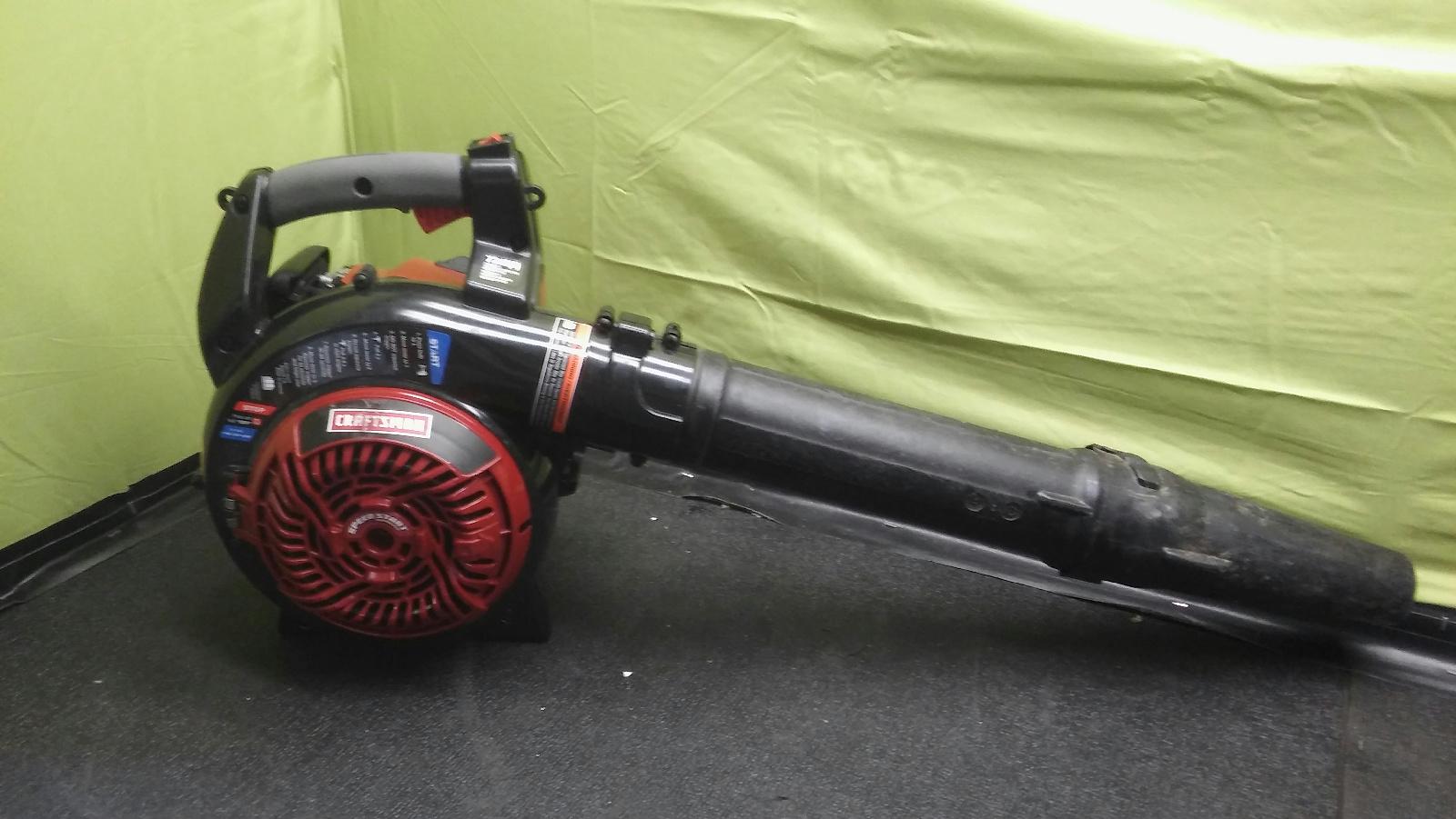 craftsman leaf blower 205 mph 25cc manual