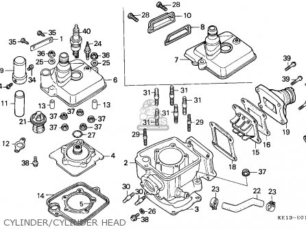 honda ace 125 service manual