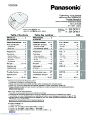 panasonic rice cooker brwon rice sr df 101 manual