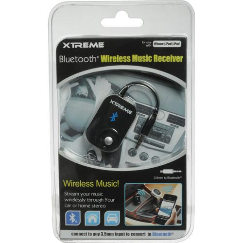 xtreme bluetooth wireless music receiver manual
