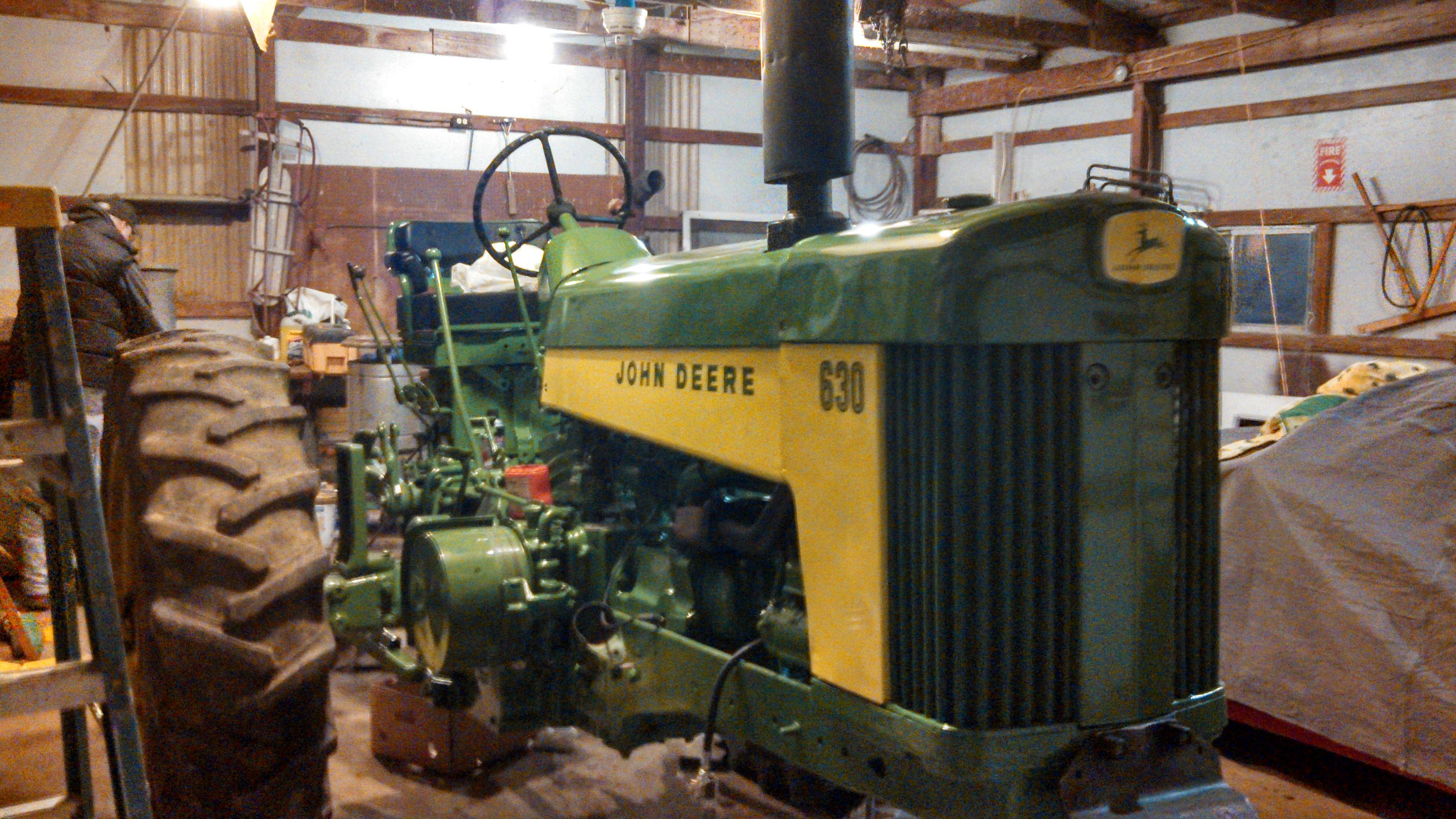 john deere 630 combine manual