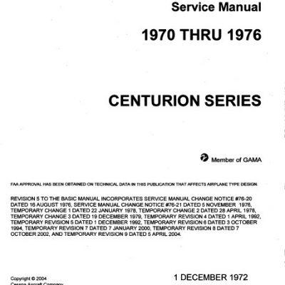 1960 cessna 210 parts manual