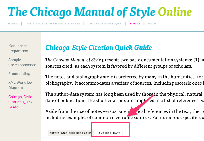 chicago manual of style law