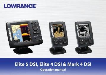 lowrance elite 5 gold manual
