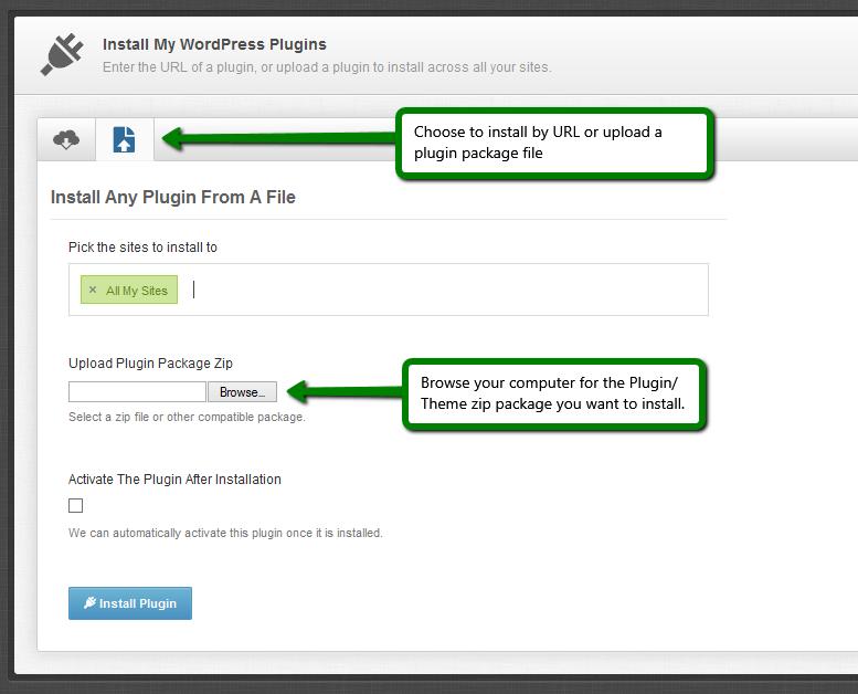 where to manually upload plugins in wordpress