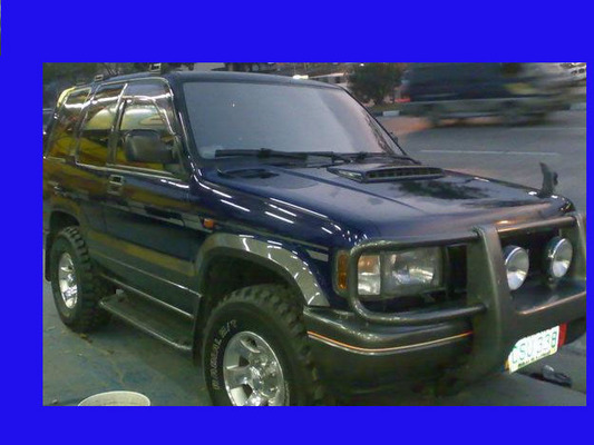 2001 holden jackaroo u8 manual 4x4