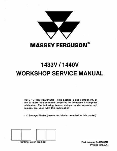 mf 35 service manual free download