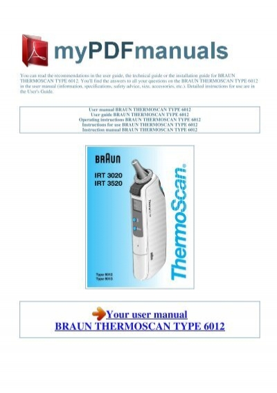 braun 740s-6 manual english