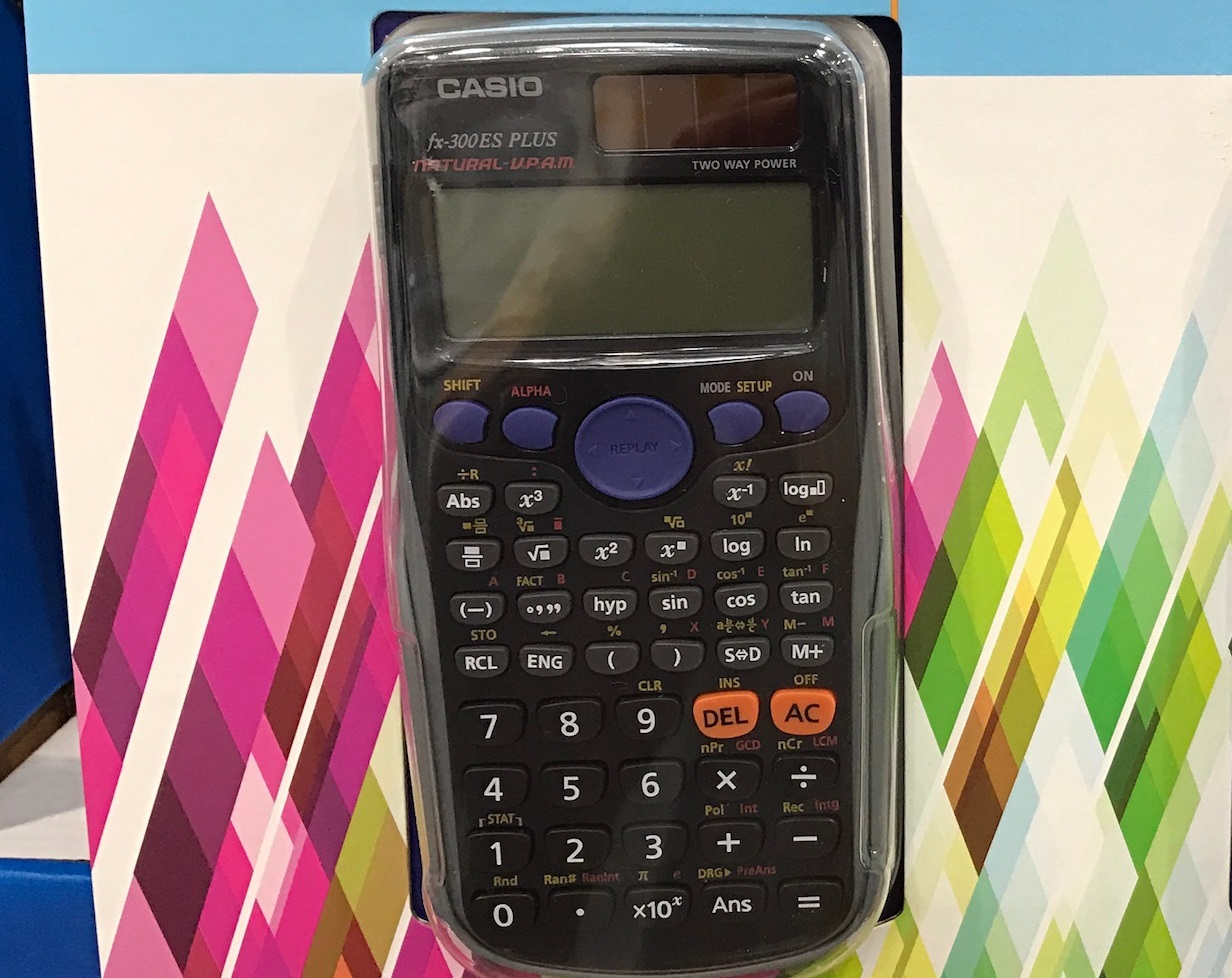 casio scientific calculator fx-350 es manual
