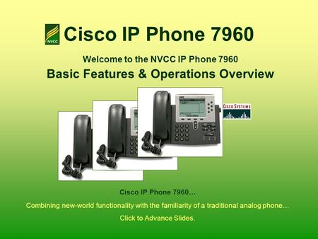 cisco ip phone 7960 owners manual