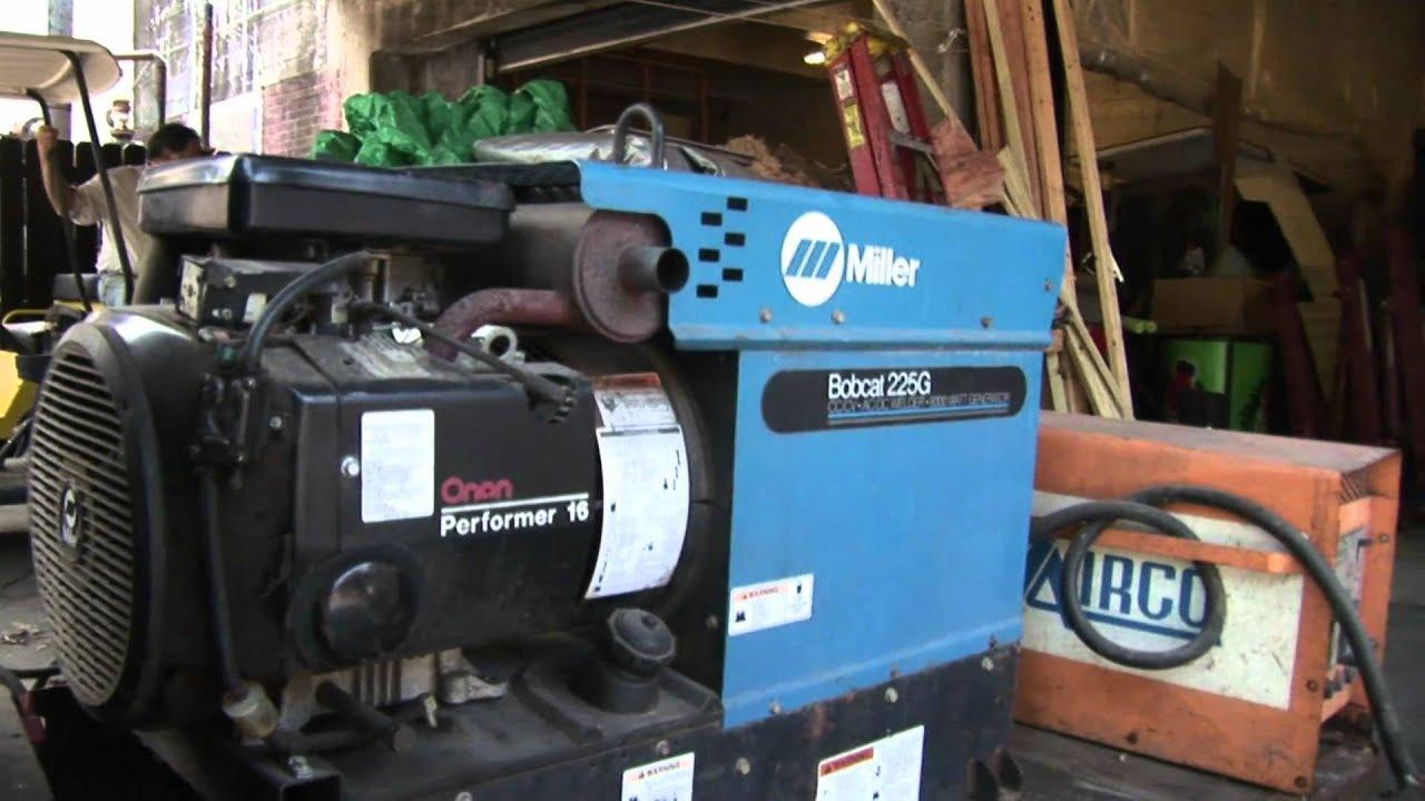 miller 225 welder parts manual