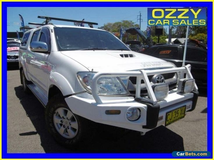 2012 toyota hilux sr manual my12 double cab
