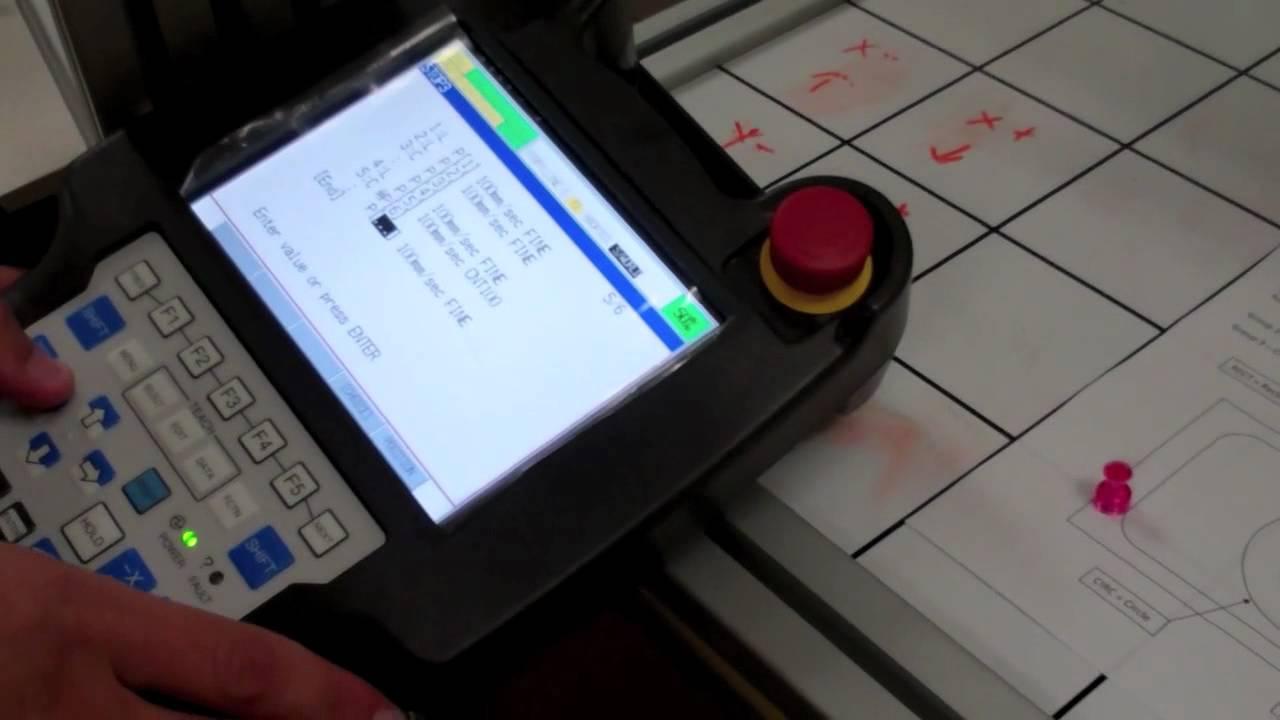 fanuc r30ib teach pendant manual