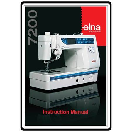 elna pro quilters dream 7200 manual free download