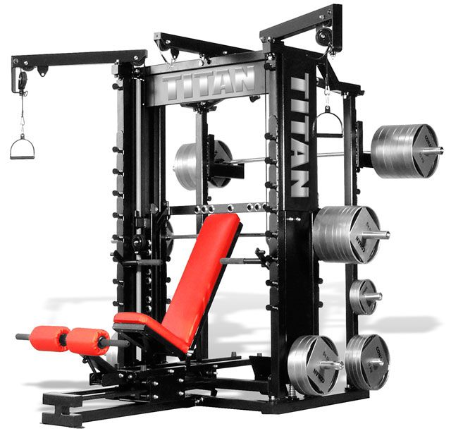 fitness gear smith machine manual