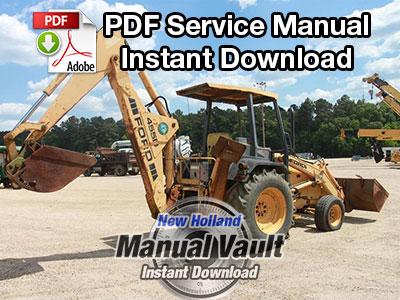 ford 2000 tractor repair manual pdf
