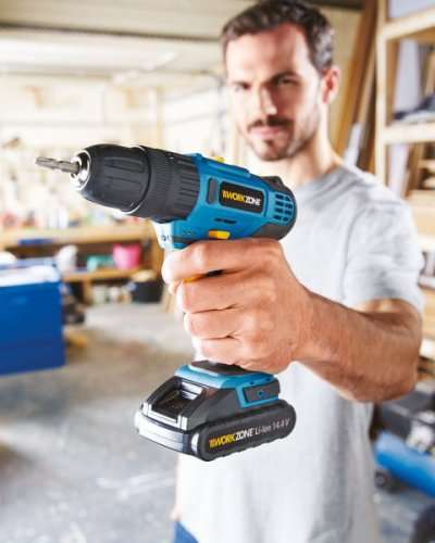 gmc 14.4v cordless drill manual