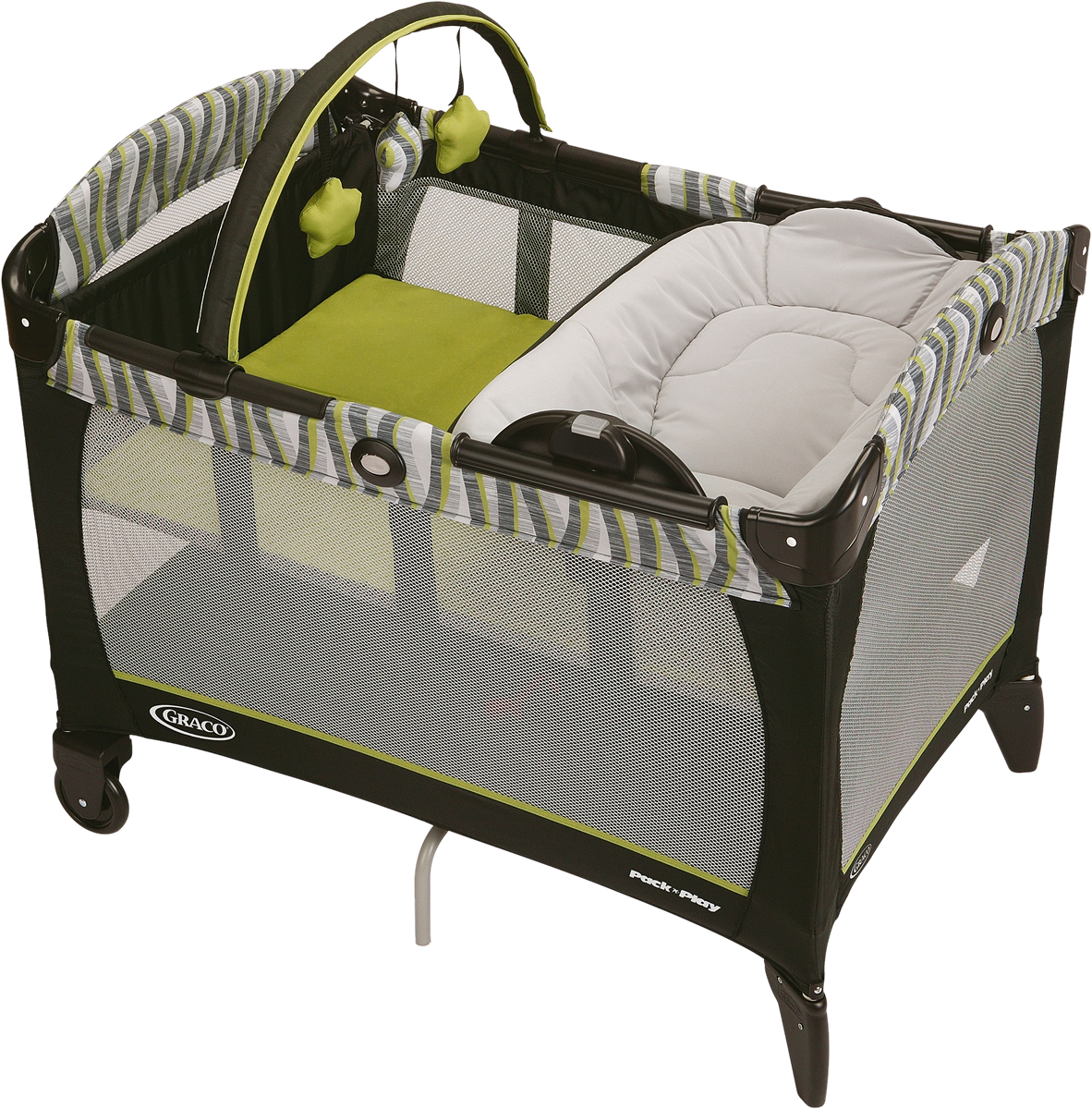 graco pack and play newborn napper manual